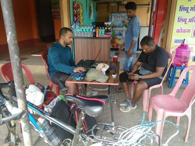 cycle from Mumbai to Kanyakumari