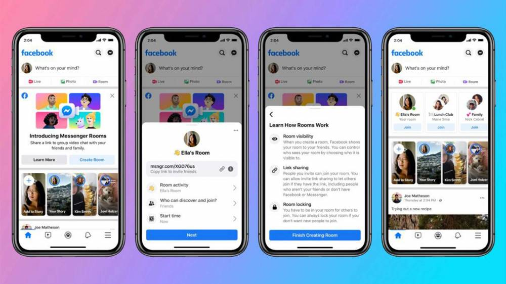 How to make Room for Video Chat on Facebook Messenger